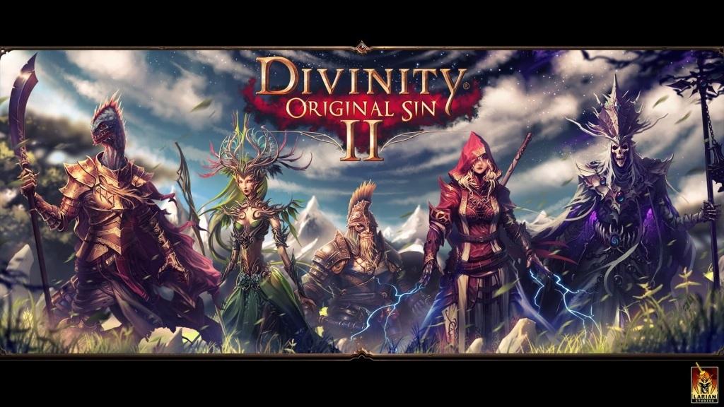 Divinity: Original Sin 2; Wallpaper: postavy, vybaveni, predmety