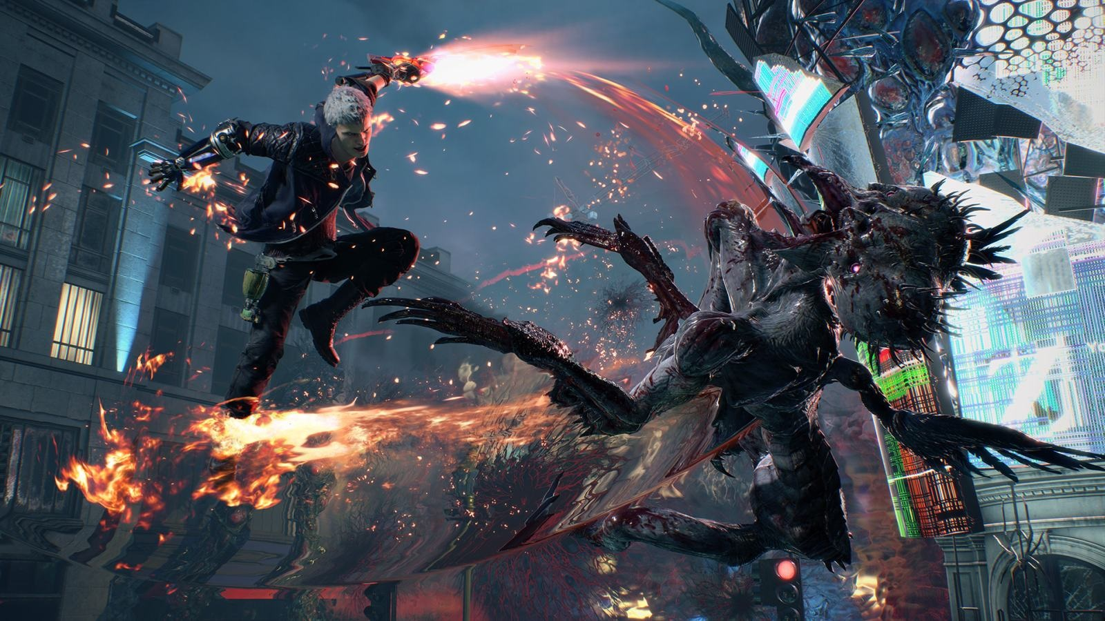 Devil May Cry 5; screenshot: skok