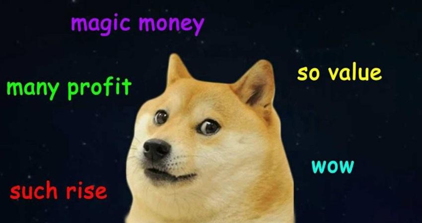 dogecoin, kryptoměny, vývoj, meme