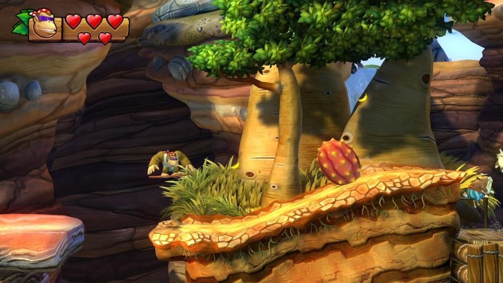 Nejlepší hry; Donkey Kong Country: Tropical Freeze; screenshot: Afrika