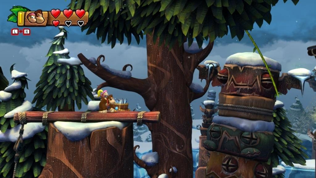 Nejlepší hry; Donkey Kong Country: Tropical Freeze; screenshot: Donkey Kong