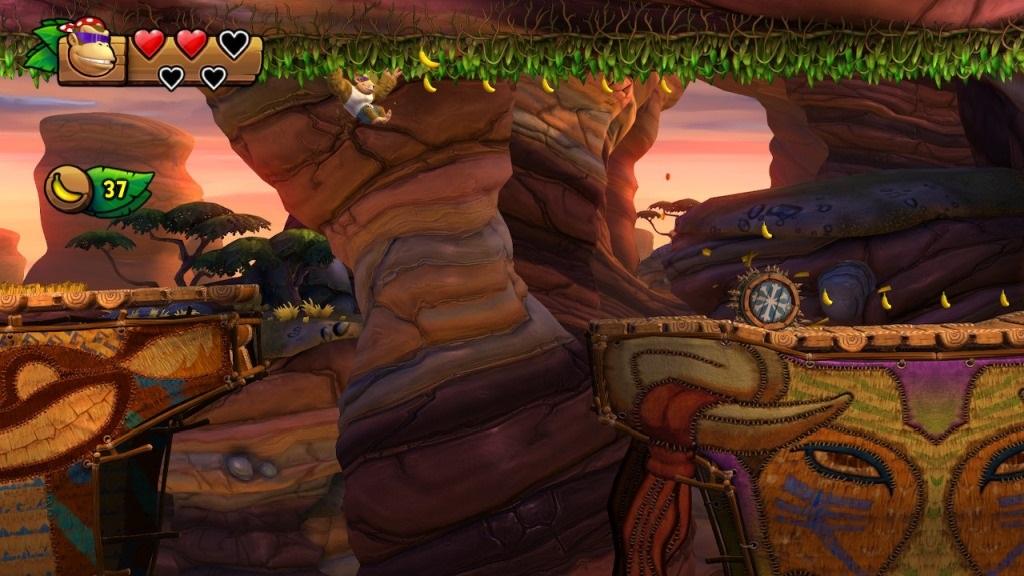 Nejlepší hry; Donkey Kong Country: Tropical Freeze; screenshot: funky kong