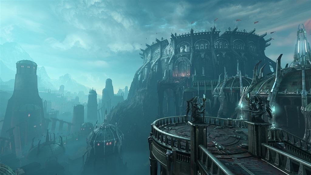 Doom Eternal; gameplay, arena