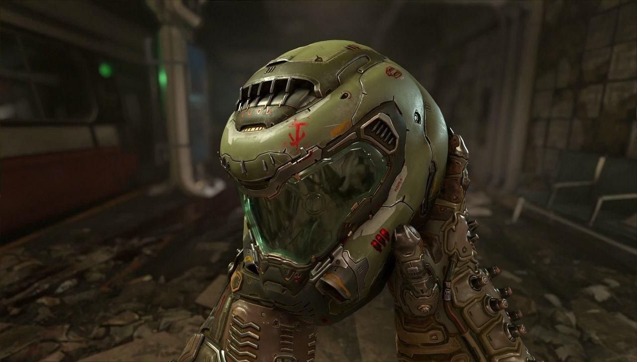 Doom: Eternal, Helmet, slayer