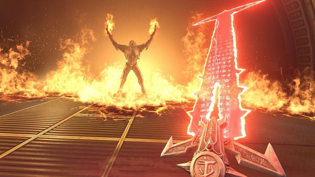 Doom Eternal; gameplay, Meč