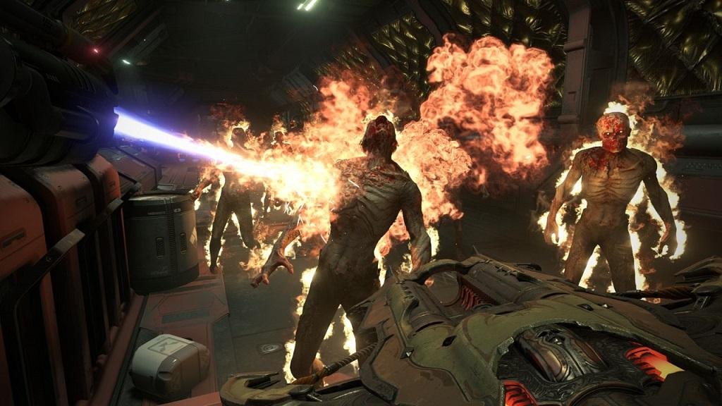 Doom Eternal; gameplay, plamenomet