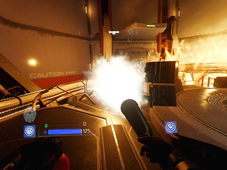 Doom VFR; Gameplay: hašení ohně