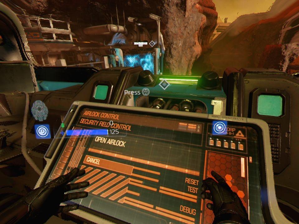 Doom VFR; Gameplay: ruce