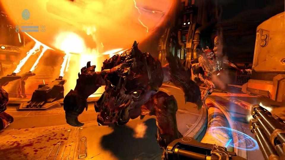 Doom VFR; souboj, démoni