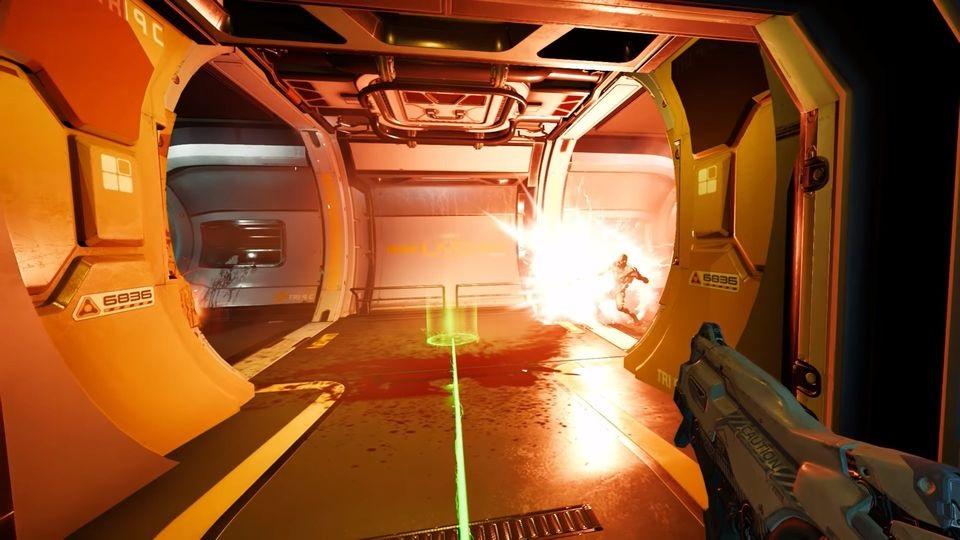 Doom VFR; souboj, teleport