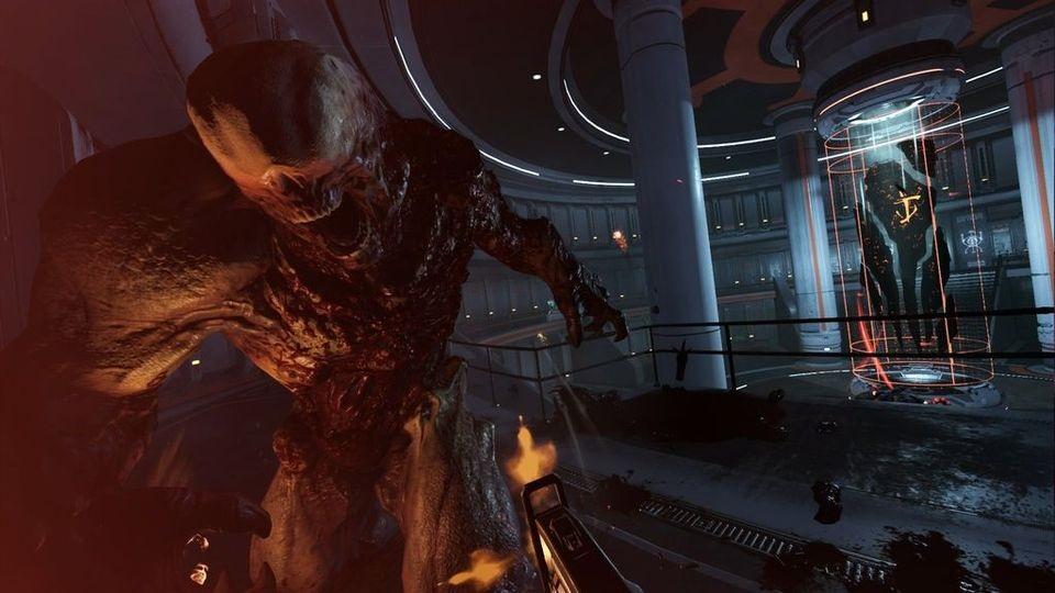 Doom VFR; souboj, démon