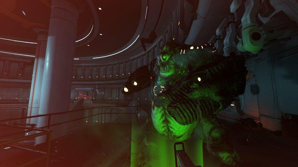 Doom VFR; démon, teleport