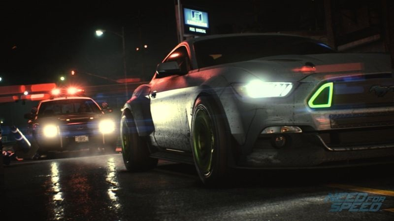 Need for SPeed 2019; screenshot