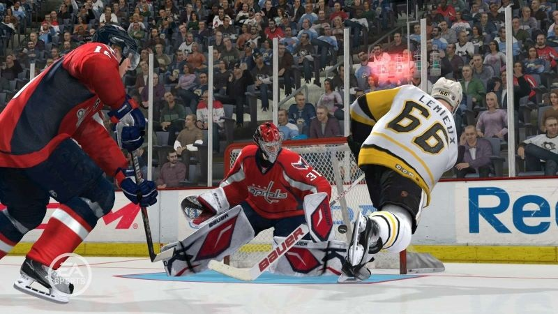 NHL 19, screenshot, gol