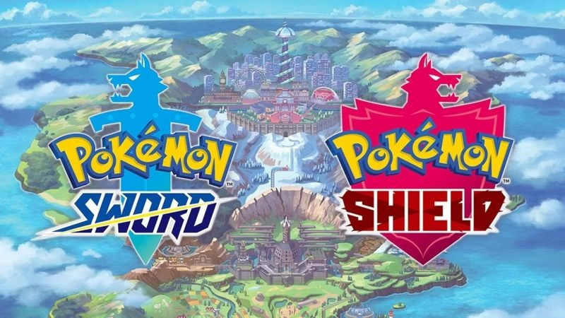 Pokemon Sword and SHield; cover