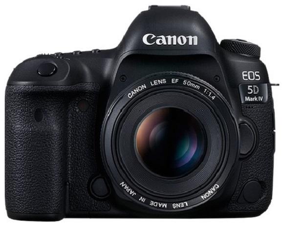 Canon akce - zrcadlovka EOS 5D Mark IV