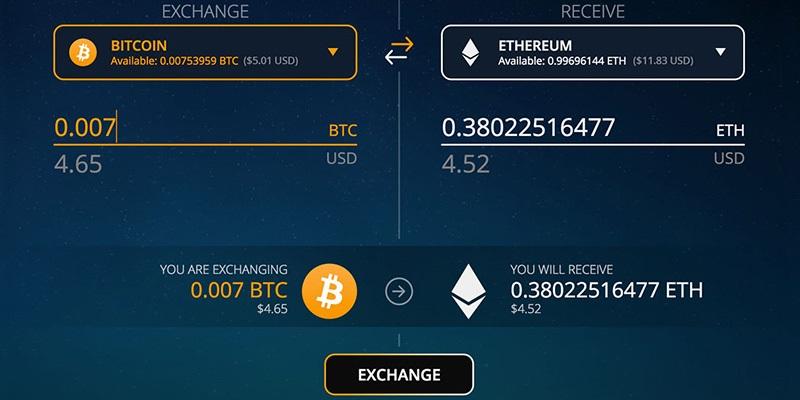 ethereum wallet, exodus