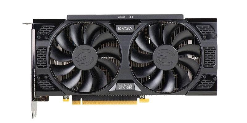EVGA GTX 1050 SSC Gaming v testech