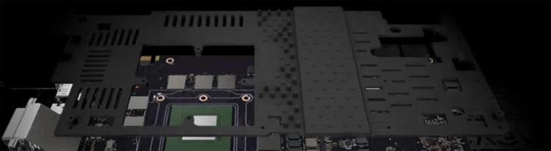 EVGA iCX chladící plát s výstupky
