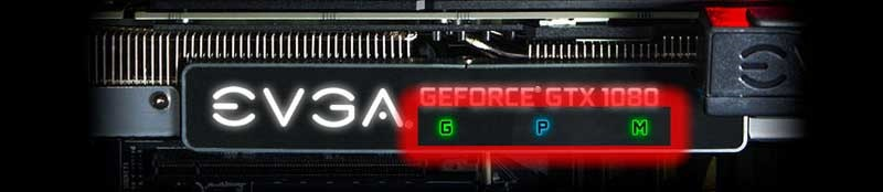 EVGA iCX RGB LED panel