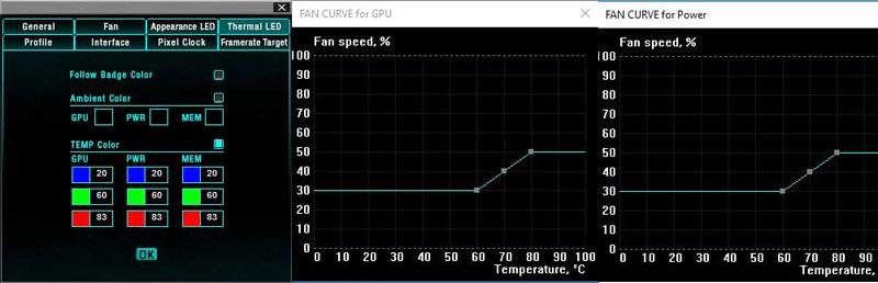EVGA Precision XOC LED a regulace otáček