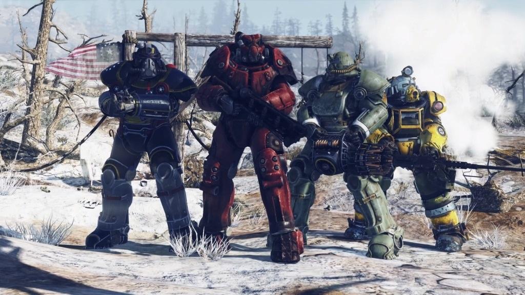 Nejočekávanější hry v listopad 2018; Fallout 76, screenshot: parta