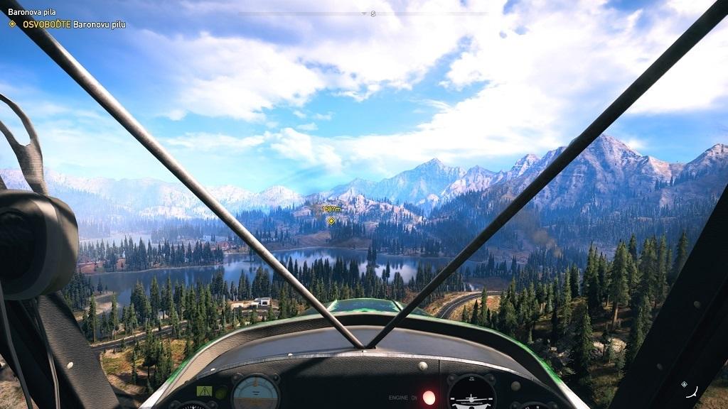 Nejlepší hry; Far Cry 5; Gameplay: letadlo