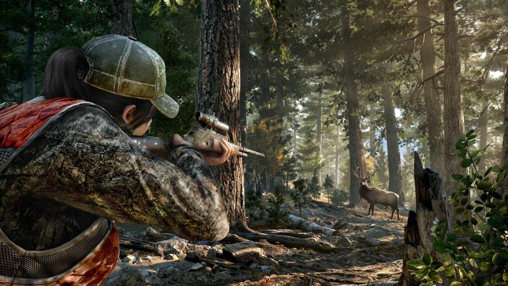 Far Cry 5; Wallpaper: lovení zvěře
