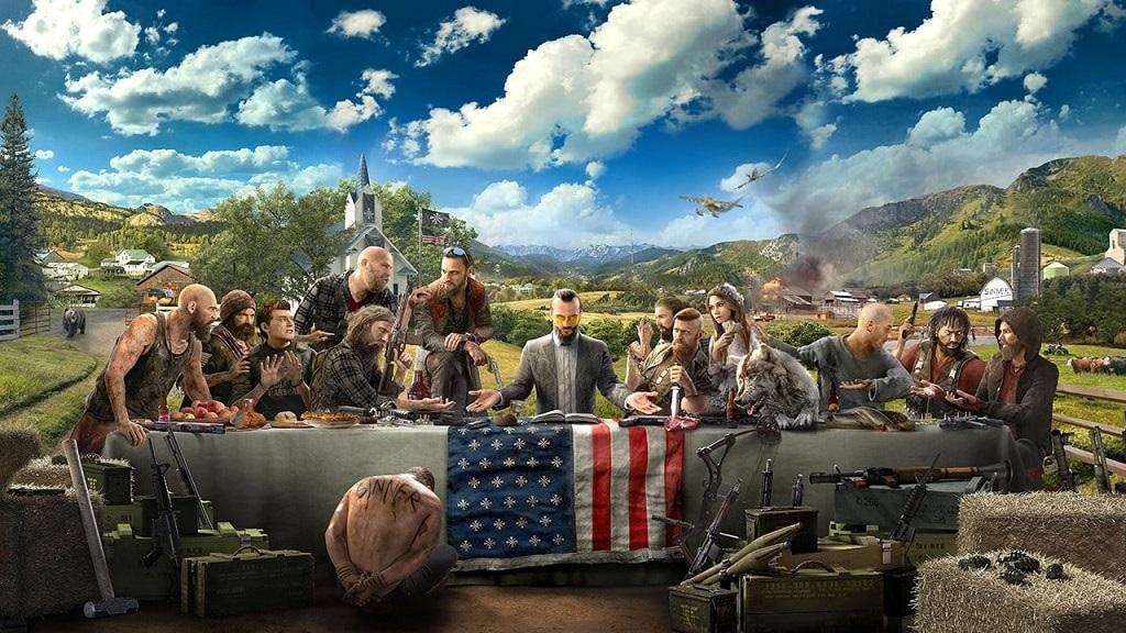 Far Cry 5; nejočekávanější hry 2018