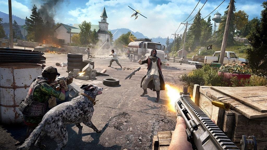 Far Cry 5; fight