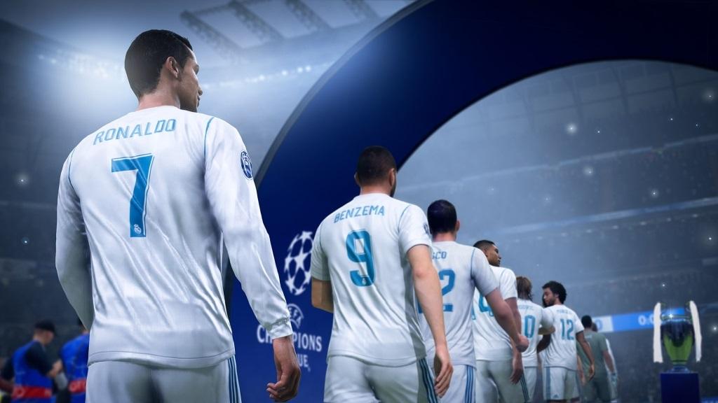 Nejočekávanější hry v září 2018; FIFA 19, screenshot: Liga mistrů