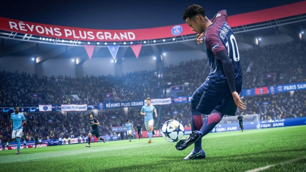 Nejočekávanější hry v září 2018; FIFA 19, screenshot: parádičky