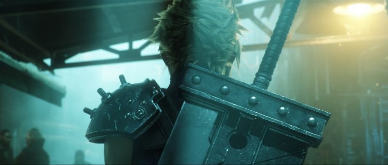 Final Fantasy VII Remake; screenshot: hrdina