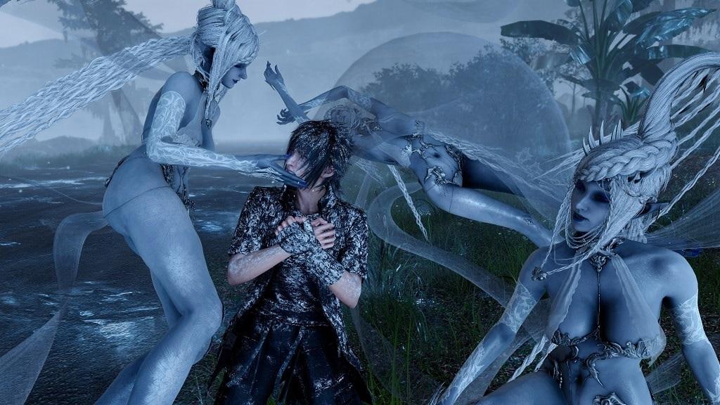 Final Fantasy XV PC; grafika, 4K, HDR