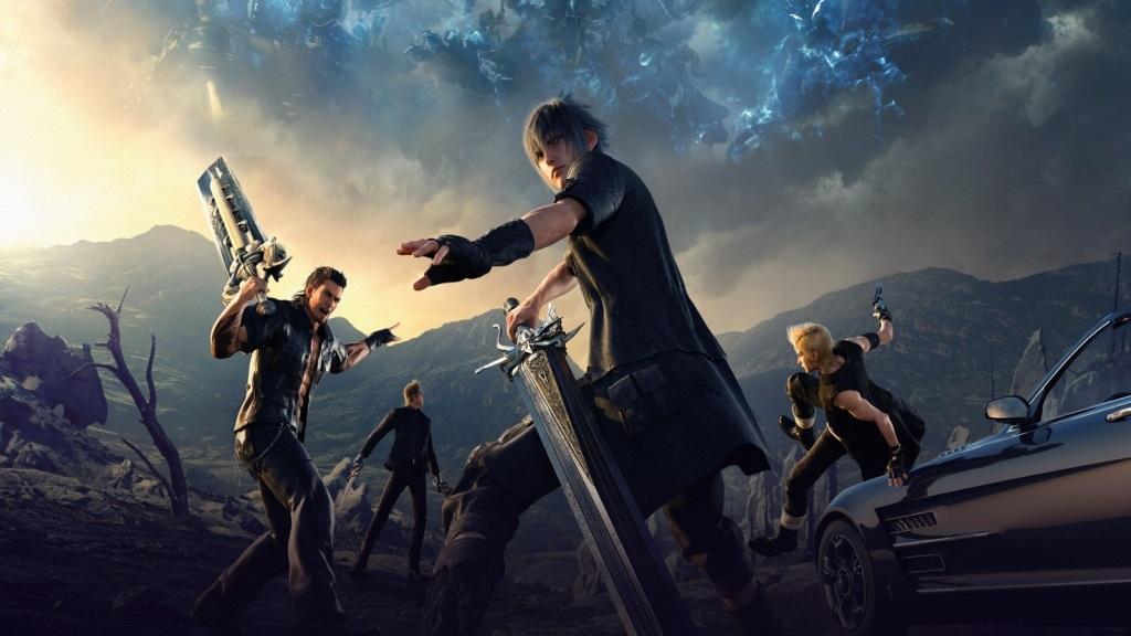Nejlepší hry; Final Fantasy XV; Wallpaper: hrdinové