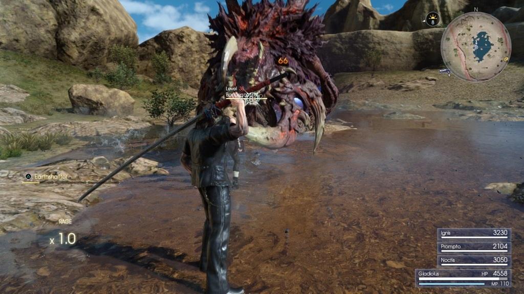 Nejlepší hry; Final Fantasy XV; Gameplay: monstrum, meč