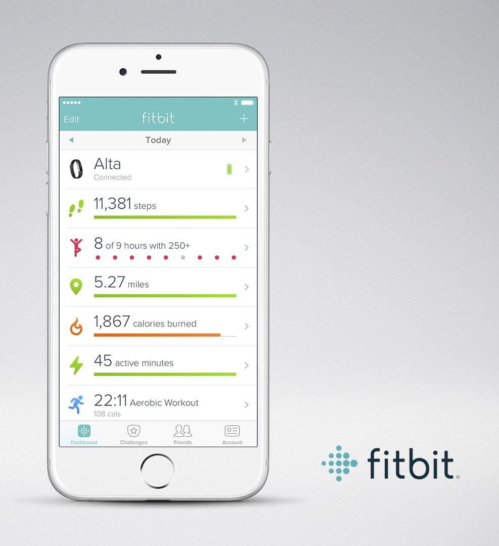 Fitbit App - aplikace