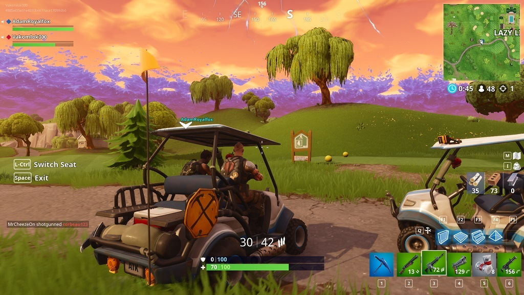 Fortnite, gameplay, season 5 - ATK
