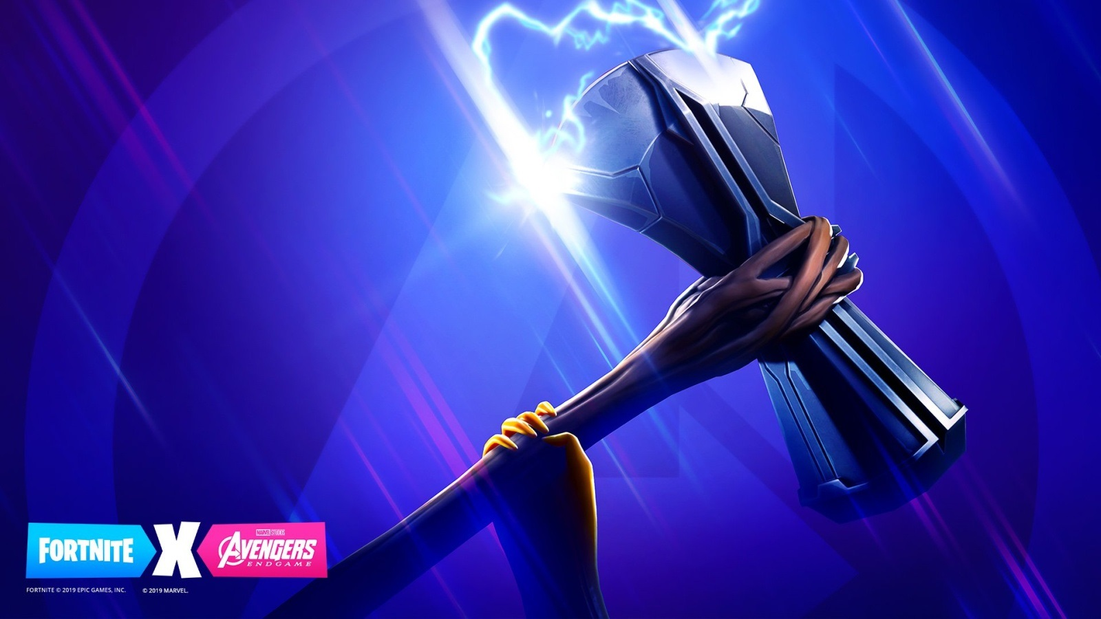 Fortnite; screenshot: Avengers, Thor