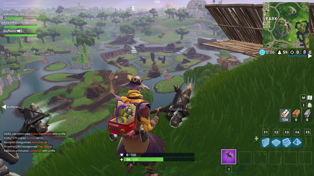 Fortnite; screenshot: Leaky Lake