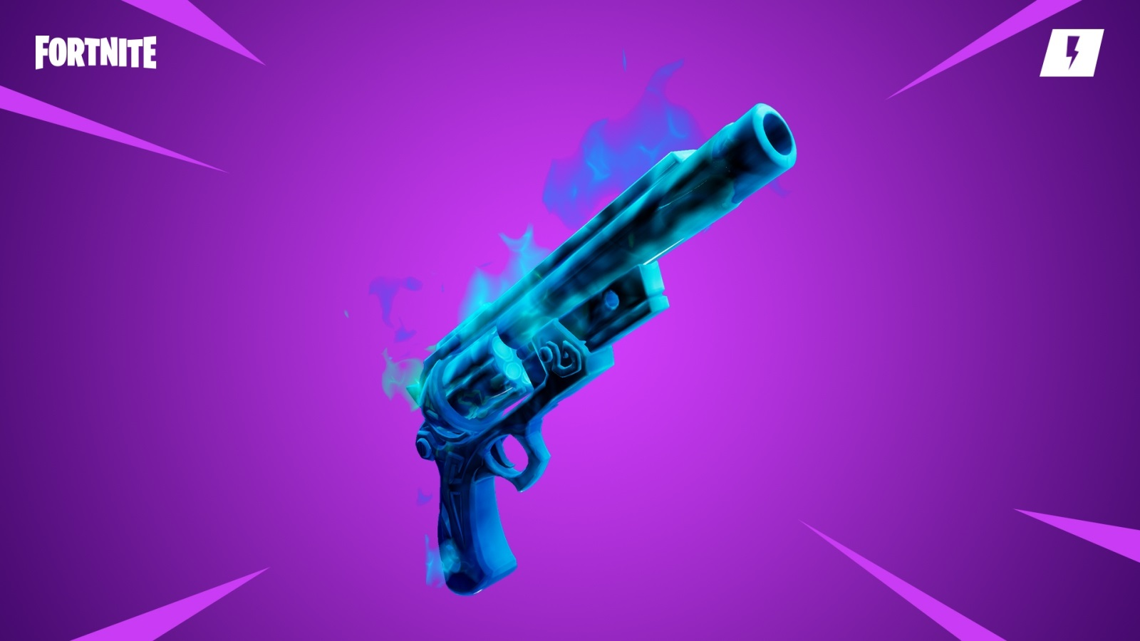 Fortnite; screenshot: ghost pistol