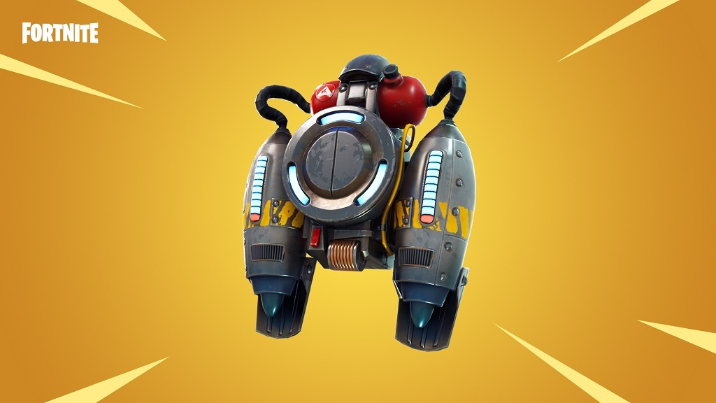 Fornite; update, jetpack