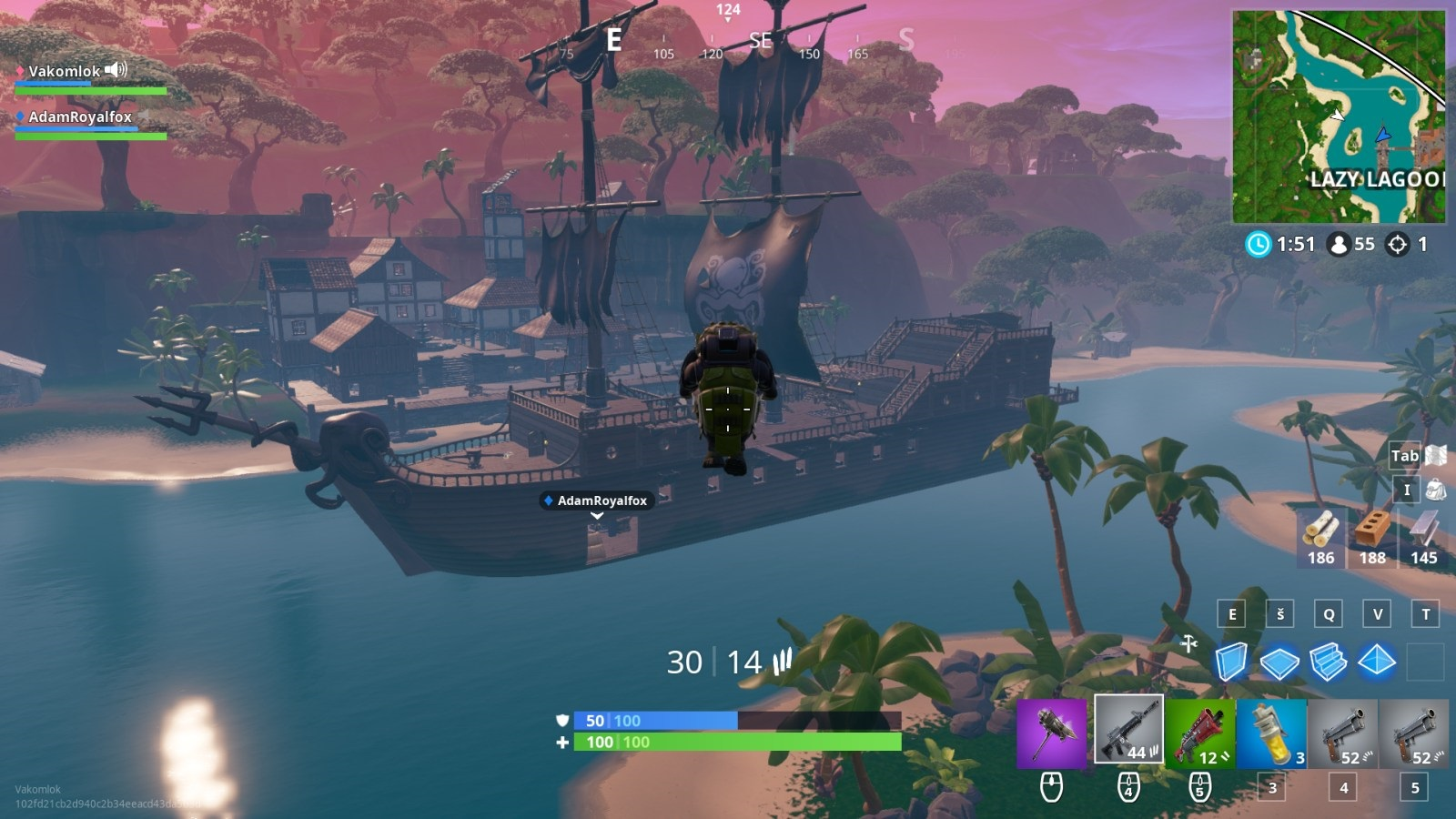 Fortnite; screenshot: kanón