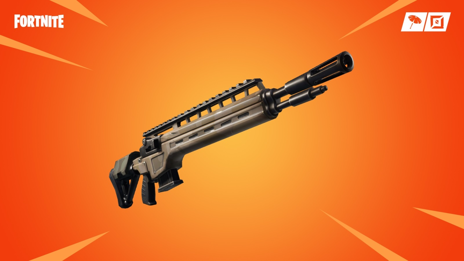 Fortnite; screenshot: rifle