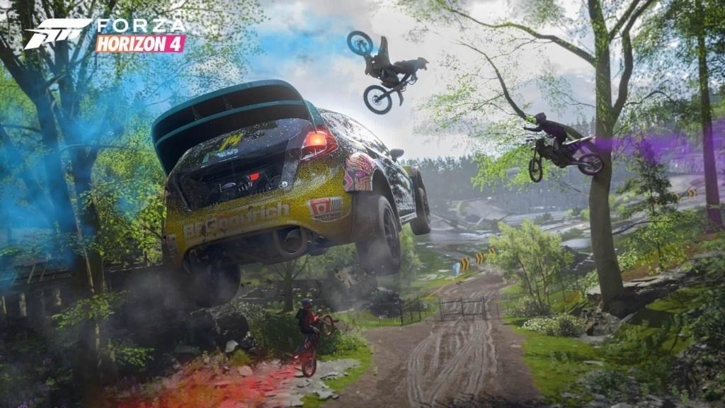 Forza Horizon 4; screenshot: festival
