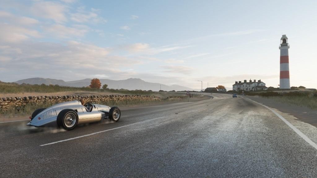 Forza Horizon 4; screenshot: historická auta