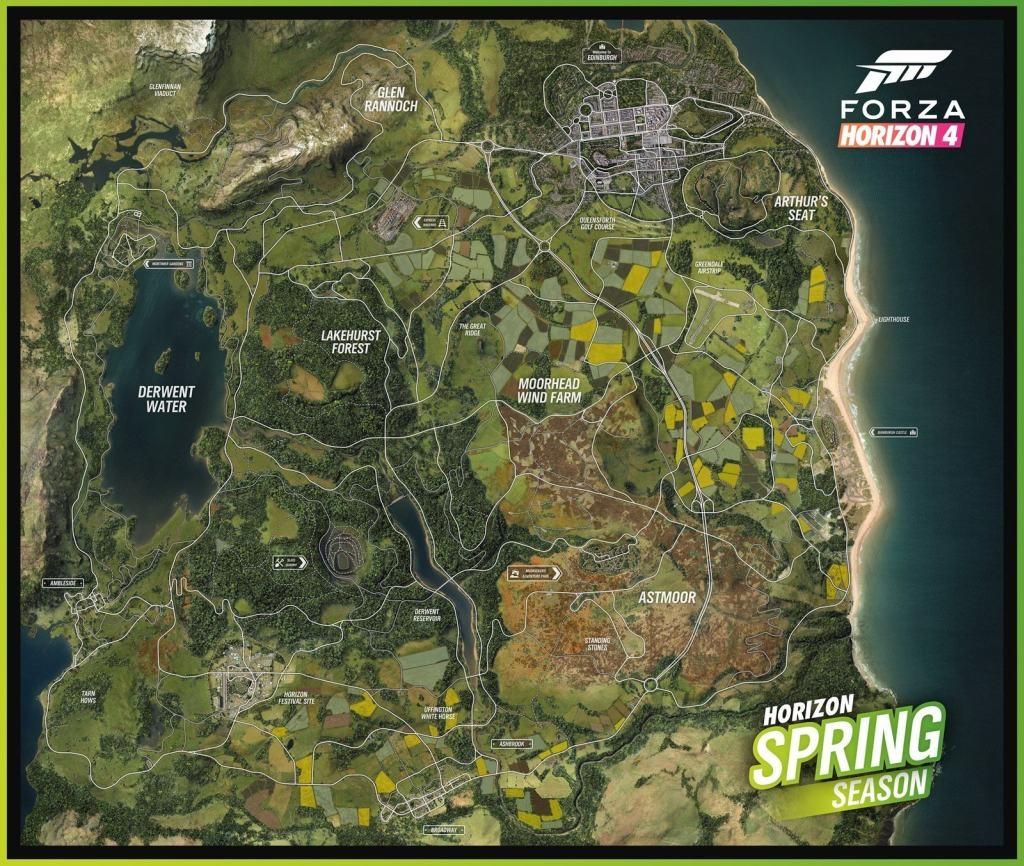acc24e7b4e8 Forza Horizon 4  screenshot  jarní mapa