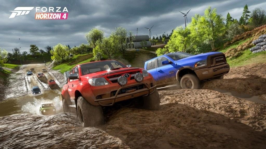 Nejočekávanější hry v říjen 2018; Forza Horizon 4, screenshot: off-road