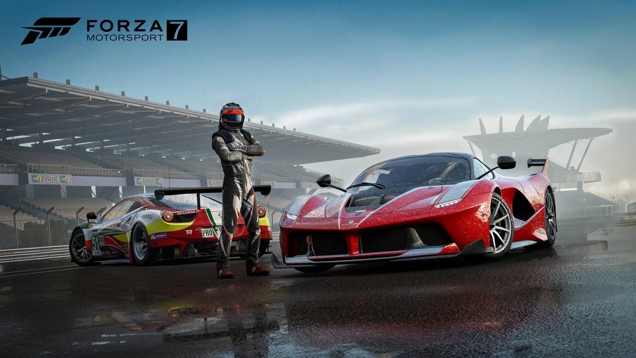 Xbox Two project Scarlett; screenshot: Forza Motorsport