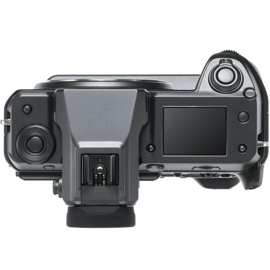Fujifilm GFX 100, shora